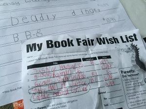My third grader loves superheroes.